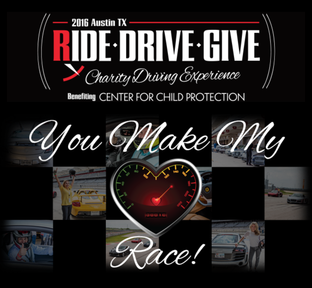 Ride.Drive.Give